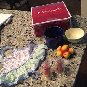 American Girl Kits Produce and Preserves set!